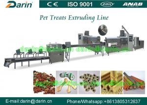 China Full continuous and Automatic pet food extrusion process equipment on sale
