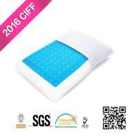 China 睡眠の首苦痛のための涼しい冷却のゲルのリバーシブルの記憶泡の中二階の枕|MEIMEIFUのマットレス on sale