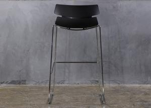 China Simple Style Commercial Bar Furniture Stainless Steel Stand High Bar Stools on sale