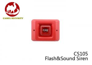 China CS105 Wireless Outdoor Security Alarm Siren 24 VDC Red Fire Alarm on sale