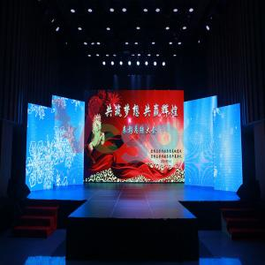 China 1/16 Scan MBI5124 P5 Slim Indoor Full Color Outdoor Led Screen Hire 600CD/㎡ on sale