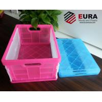 EURA Plastic Folding Crate/ Foldable Plastic storage box/ Collapsible crate