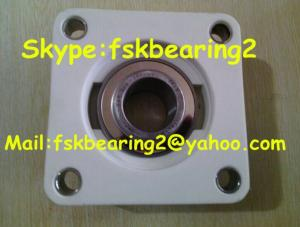 China Steel Cage Flange Plastic Pillow Block Bearings Housing Ucf205 on sale