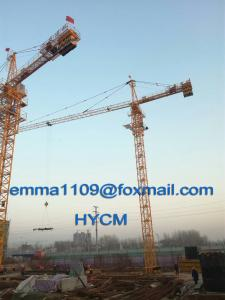 China QTZ5015 Building Tower Crane 6tons Load High Motor Protection Class H on sale