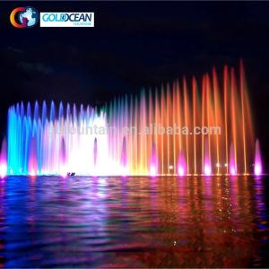China DMX512 Light Musical Dancing Fountain Large Water Fountain Show on sale