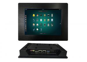 China 8 Inch Embedded Touch Panel PC Aluminum Alloy Material Linux OS And 5 COM RS232 on sale