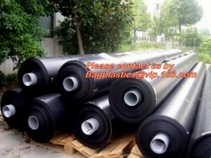 China 0.31 1 2 3 3.5 4 5 6 8 10 12 15 mil Waterproof Dampproof Clear / Black Plastic Poly Construction Film Rolls bagease pack on sale