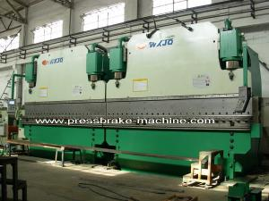 China Automatic 6500KN Large Capacity electrical pole CNC Tandem Press Brake Bending on sale