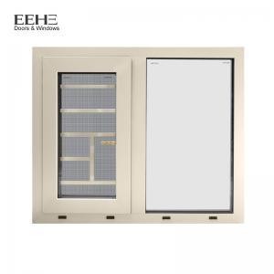 China Luxury Villa Powder Coated Aluminium Windows With Stainless Steel Fly Screen on sale