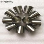 crisol de fusión 50ml, 35ml, 40ml, crisol del circonio 702 del crisol del metal del zr 25ml