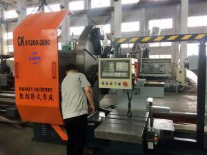 China Global Service China CNC Facing In Lathe Machine 1600mm Diameter CK64160 on sale