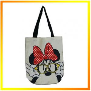 China 2014 Cute mickey mouse cheap clear promotional shopping bag on sale