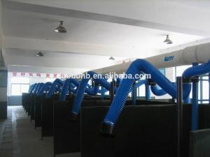 China Fume Extraction Arm, Flexible Suction Arm, Welding smoke and dust collection Arm on sale