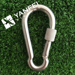 China Stainless Steel 304/316 Spring Snap Hook With Nut on sale