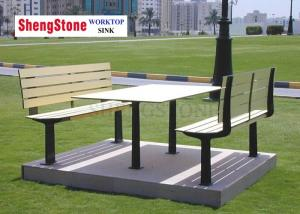 China Park School Outdoor Hpl High Pressure Laminate Sheet Weatherproof Combert Bench on sale