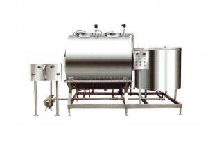 China 2000L Fully Automated CIP System 304SS With Horizontal / Vertical Construction on sale