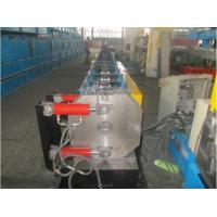 Round Shape Stainless Steel Pipe Bending Machine , Gutter Roll Forming Machine PLC Control