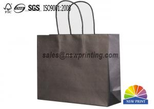 China Twisted Paper Handle Fashion Clothing Paper Bags Logo Printed Retail Shopping Bags on sale