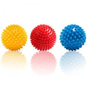 China Fitness Mad Spiky Massage Ball Trigger Point Sport Fitness Hand Foot Pain Relief on sale