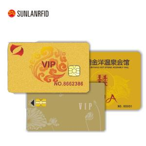 China Standard Sized PVC Contact Smart Card with Eco-Friendly Materials on sale