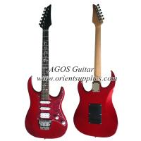 """China 39"""" Electric Guitar - Ibanez style with pearl loid pickguard AG39-IB6 on sale"""