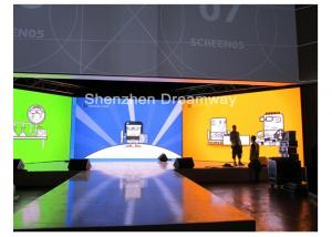 China Indoor Full Color P 6 Epistar SMD3528 LED Screen Rental For Show , S-VIDEO COMPOSITE VIDEO on sale