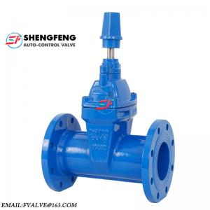 China DIN F5 resilient seated gate valve on sale