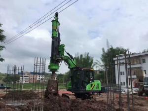 China TYSIM KR40A Mini Hydraulic Rotary Drilling Rig Foundation Piling Equipment 40KNm Max Torque on sale