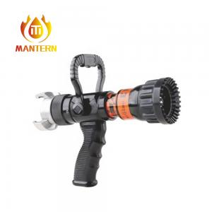 China Firefighting Apparatus Adjustable Flow Nozzel , Fire Sprinkler Nozzle Max 16 Bar Pressure on sale