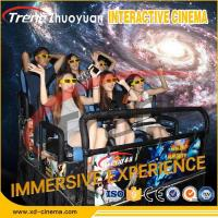 Hydraulic System Mobile 5D Movie Theater With Virtual Reality Gaming Console