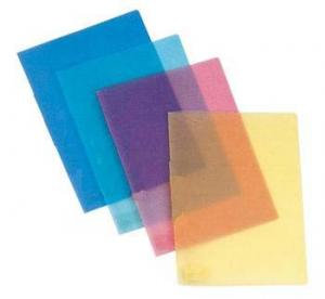 China Customized Heat-resistant Transparent color A3 / A4 pvc binding cover for book on sale