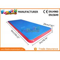 Customized Inflatable Air Track For Gym / Inflatable Tumble Track