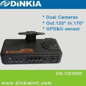 China GPS and G-sensor Dual Lens Car DVR DS-CB3000 on sale