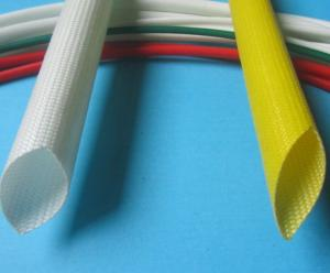 China Silicone Coated Fiberglass sleeving 6000V Individual Value -10ºC - +200ºC on sale