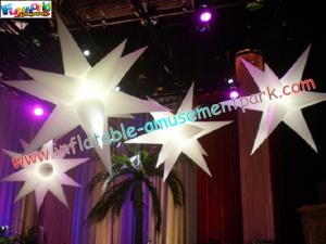 China Inflatable Star Decoration with led light or common light (white color) for Exhibition on sale