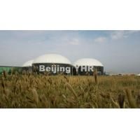 China Smooth Glass Fused Steel Tanks , Anaerobic Manure Digester 2.4m X 1.2m on sale