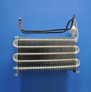 China Blue Coating Fin Tube Heat Exchanger / Finned Pipe Heat Transfer Copper Material on sale