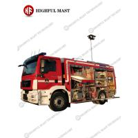 4m Aluminum Pneumatic mast, vehicle mounted telescopic mast , telescopic mast Fire Truck Light Tower
