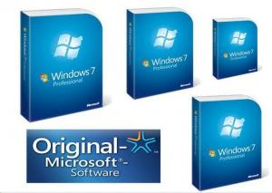 Quality Windows 7 Professional Retail Box DVD Retail Sealed 32 bit and 64 bit for sale