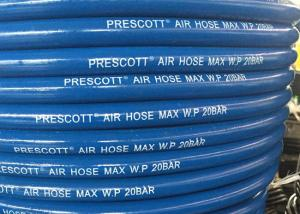 China CE ID 10mm Rubber Compressor Air Hose with Burst Pressure 60 Bar on sale
