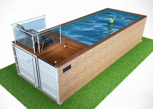 China 2020 Factory Outlet Container Pools Design Ccontainer Swimming Pool Prefab House Swimming Pool for sale on sale