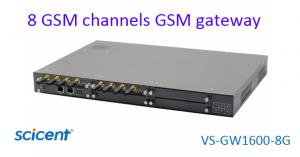 China gsm voip gateway with 8 sim cards gsm gateway, sms gateway on sale
