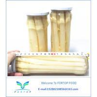 Factory Price Premium Brined White Asparagus Spear in Glass Jar