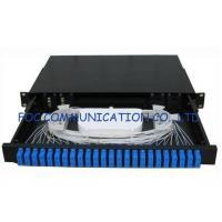 China Sliding Type Rack Mount Fiber Optic Patch Panel SC 24Port for Fiber network installation on sale