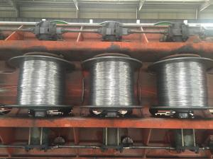 China Concentric Lay Stranded Aluminum Clad Steel Wire Conductors Without Sheath Material on sale