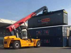 Maxi - Mal 45 Ton Reach Stacker Container Lifting Forklift