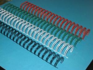 China Nylon-coated Iron Wire Binding Machine / Wire Comb Binding Machine 220V 50Hz on sale