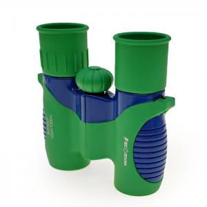 China Green Shockproof 8x21 Kids Binoculars For Bird Watching / Learning Star on sale