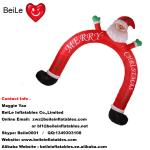 Hot commercial beautiful outdoor christmas man arch for decoration