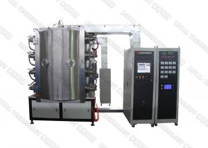 China PVD Ion TiN / Titanium Nitride Coating Machine  ,  Cathodic Arc Vacuum Plating System on Glass on sale